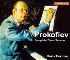 NEW Prokofiev: Complete Piano Sonatas (Audio CD)
