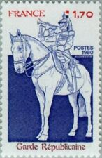 FRANCE - 1980 - Military Forces -  Republican Guard - MNH Stamp - Sc. #1717