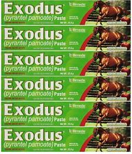BIMEDA Pyrantel Paste Horse 23.6g wormer Equine Parasite Exodus (Pamoate...