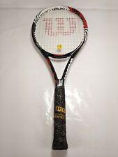 Wilson Blx Bold Tennis Racquet 4 3/8 3L 9.4zo 100sq in 16/20 53-63lbs 4pts hl