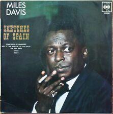 MILES DAVIS SKETCHES OF SPAIN 33T LP ORIGINAL BIEM CBS S 62327