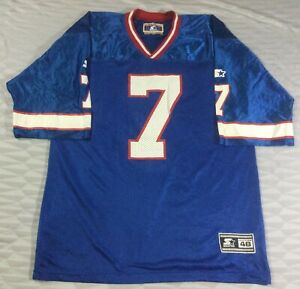 Vintage Buffalo Bills Doug Flutie #7 Football-NFL Starter Jersey Size48