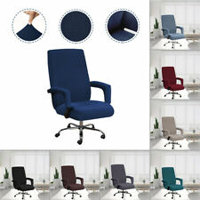 Swivel Computer Chair Cover Stretch Office Armchair Slipcover Seat Protect Cover