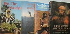 AUSTRALIAN ABORIGINE BOOKS x 4 - 2 FIRST EDITIONS