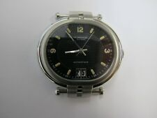 ROBERGE ANDROMEDE II S/STEEL CRYSTAL CASE DIAL HANDS AND CROWN  SOLD FOR PARTS