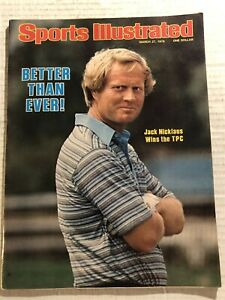 1978 Sports Illustrated JACK NICKLAUS Wins THE TPC No Label BETTER Than Ever N/L