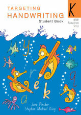 NEW Targeting Handwriting NSW Year K Student Book by Pascal Press, 9781740202954