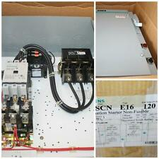 Siemens Combination Nema Size 3 Motor Starter Non-Fusible SCN E16 50HP SXL EO