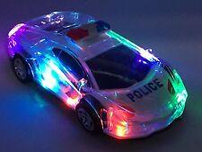 Kids auto della polizia Motorcar con luci e musica a batteria TOYS