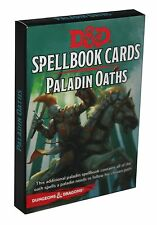 Dungeons & Dragons-d&d - Spellbook CARDS Paladin oaths - 24 CARDS-Deck-Engl. - NEW