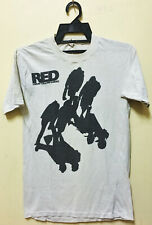 VINTAGE 80's RED LORRY YELLOW LORRY GOTH ROCK NEW WAVE TOUR CONCERT T-SHIRT