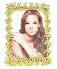 Decorative Sophia Picture Frame By Ciel Collectables with Swarovski Crystals