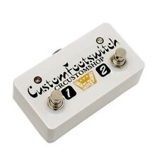 CR® CUSTOM FOOTSWITCH FOR PEAVEY VALVEKING 1 AMPLIFIERS HANDWIRED USA NEW
