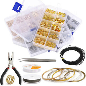 Jewelry Making Supplies Kit -Jewelry Repair Tool with Accessories Jewelry Pliers
