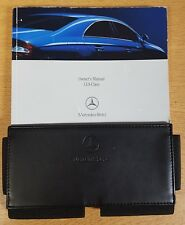 GENUINE MERCEDES CLS CLASS C219 OWNERS MANUAL HANDBOOK 2004 2008 WALLET #  F 851