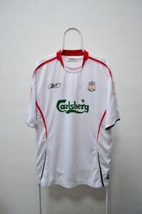 Fc Liverpool 2005-2006 Away Jersey Reebok Shirt