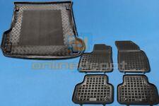 Gummi-Fußmatten+Kofferraumwanne AUDI Q7 II 2015-heute