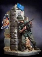 1/20 90mm Resin Figure Model Kit German Soldier Infantry WWII WW2 Unpainted