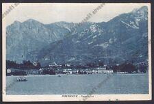 LECCO MALGRATE 05 LAGO di COMO Cartolina viaggiata 1927