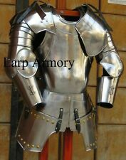 16th Halloween Century Etched Spanish Medieval Suit Of Armour Wearable Costume