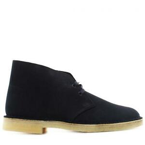 Clarks P21u man shoes ankle boots 26155478 DESERT BOOT INK
