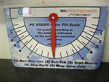 Solar Angle Tilt Scale for PV Photovoltaic Panel System Arrays