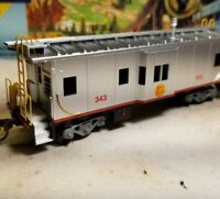 HO Athearn Kansas City Southern caboose car, for train set, New RTR , KCS 7455