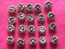 Tibetan Silver Tiny Flower Beads 20 per pack