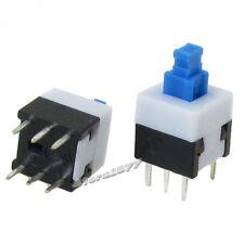 10pcs 8 x 8mm Torch Latching Tact Tactile Push Button Switch 6 Pin DIP PCB s662