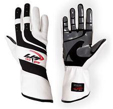 LRP Kart Racing Gloves- Speed Gloves Black/White