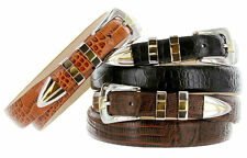The Alexander - Genuine Leather Italian Calfskin Designer Dress Belt
