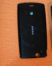 Cover Batteria Posteriore SONY Ericsson Xperia Arc S black ORIGINALE