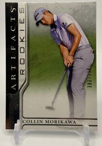 2021 Upper Deck Artifacts Golf Rookies Collin Morikawa RC /999 True Rookie Card