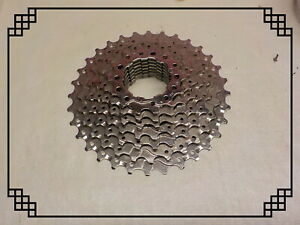 7 Speed CASSETTE  Bicycle Freewheel 14 T Silver