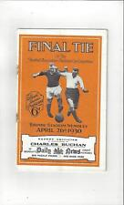 Arsenal v Huddersfield Town FA Cup Final Football Programme 1930