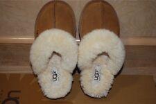 UGG Coquette Chestnut Suede/Sheepskin Slippers US 7 Women's 5125