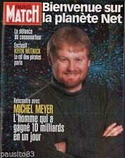 Coupure de presse Clipping 2000 Michel Meyer  La Planète Net (13 pages)