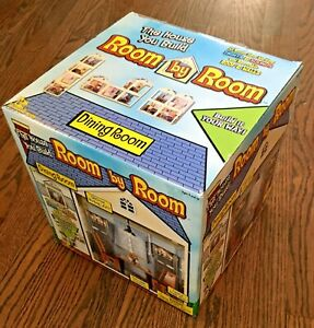NEW! Jazwares DINING ROOM • Room by Room Dollhouse • FREE SHIPPING!