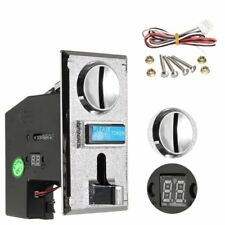 Multi Coin Acceptor Selector Slot Arcade Gaming Vending Machine Game Control YR