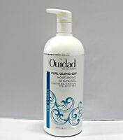 Ouidad Curl Quencher Moisturizing Styling Gel 33.8 oz LITER With a PUMP