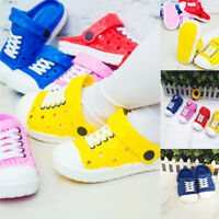 Kids Waterproof Clogs Sandals Slippers Summer Beach Boys Children Girls 20-34