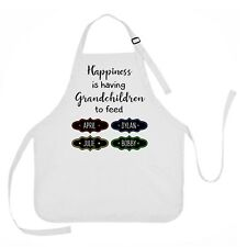 Grandmother Apron, Happiness is Having Grandchildren to Feed, Grandma Apron