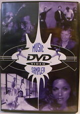 Warner Music Video Sampler -  Madonna Clapton Metallica Cher Oldfield DVD