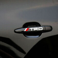 4 PS TRD maniglia porta adesivo bianco Racing Badge per TOYOTA MR2 AURIS PRIUS YARIS