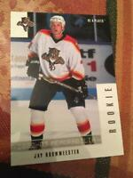 02-03 BAP Be A Player Memorabilia Jay Bouwmeester RC