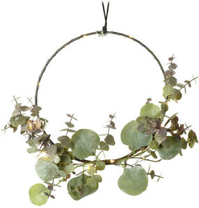 Eucalyptus Wreath LED Lights