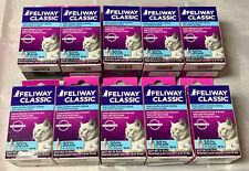 Feliway Classic 30 Day Refill for Diffuser 10 Bottles All New! 48 ml