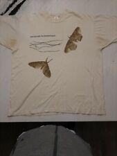 Vintage XL 1994 Nine Inch Nails concert shirt Downward Spiral Moth NIN ORIGINAL