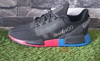 Adidas Originals NMD R1 V2 Men's Trainers Running Shoes Black Red Blue FV9023