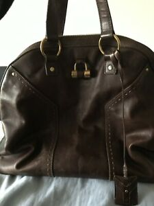 YSL Chestnut Handbag